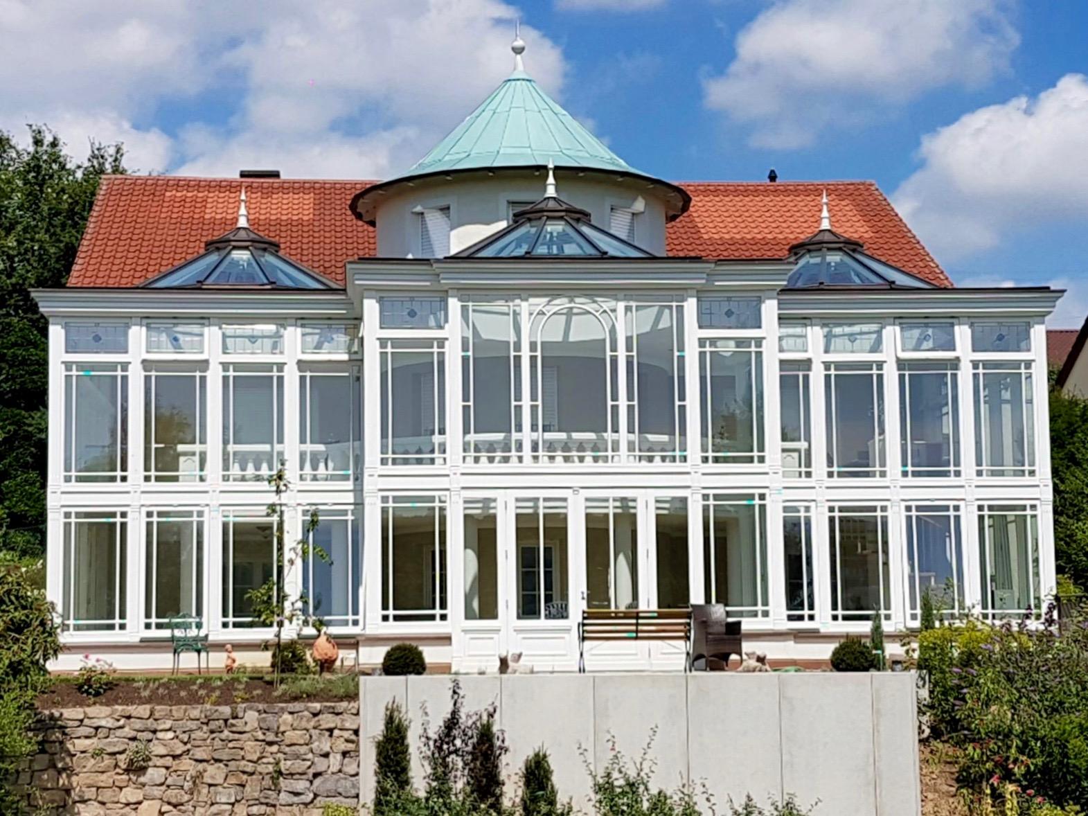 Wintergarten Englischer Stil doppelstöckiger englischer wintergarten jc exklusive